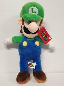 Nintendo Super Mario Luigi Plush 2020 - Large 42cm - BNWT