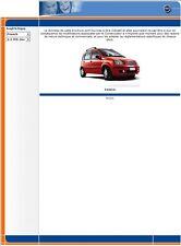 manuel atelier entretien réparation technique Fiat Panda + 4x4 - Fr