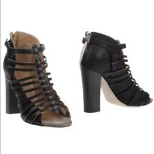 DIESEL BLACK GOLD EDITION CUT-OUT SANDALS BOOTIES>BN>GENUINE>£250+>5uk>38>SHOES