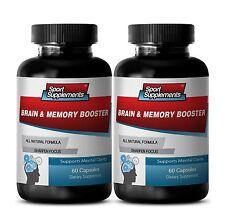 Brain Health - Brain & Memory Booster 777mg - Focus Brain Factor Supplements 2B