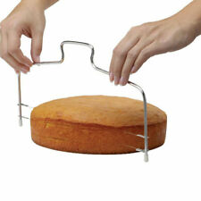 Single Wire Cake Cutter Slicer 1 Line Stainless Steel Butter Bread Pastry Kn;RZ