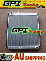 Aluminum Radiator for TOYOTA Hilux LN147 LN167 1KZ-TE 3.0L Engine Turbo Diesel
