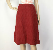Warm Pure Woollen Skirt Hand knitted with Fleece