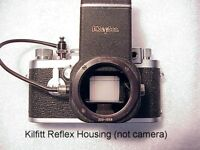 Kilfitt Kilarflex Reflex Housing for Leica Screw Mount M39 | New | Pls Read |