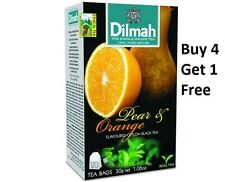 Dilmah Pear and Orange 20 Tea Bags (30g 1.06 Oz) Buy 4 Get 1 Free