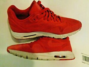 Womens Nike Air Max Running Athletic Shoes Size 8 Red