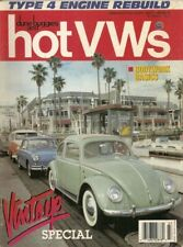 DUNE BUGGIES & HOT VW'S 1990 JULY - TYPE 4 REBLD, BODYWORK BASICS, R END ALIGN