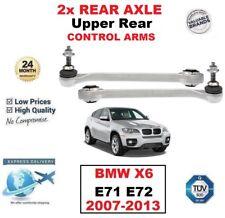 2x eje trasero superior de la Suspensión Brazos Control para BMW X6 E71 E72