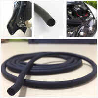6m 7mm O Shaped Filler Strip Car Door Frame Trunk Engine Weatherstrip Seal Strip