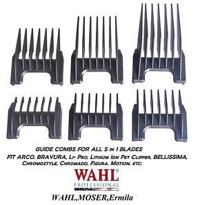 WAHL Attachment GUIDE COMB For ARCO,CHROMADO,LI+ PRO,MOTION 5 in 1 Clipper Blade