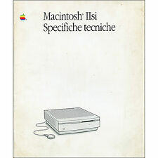 MANUALE ISTRUZIONI MAC IIsi libretto originale MACINTOSH APPLE  1