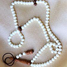 Islamic Prayer Beads 99 Camel Bones & Kuka + Velvet box by NileCart