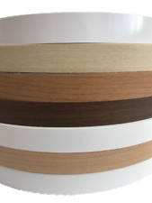 Melamine iron on pre glued edging Tape/Edge various colours