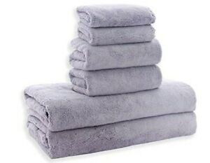 Ultra Soft Towel Set - Quick Drying - 2 Bath Towels 2 Hand Towels 2 Washcloths