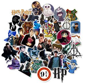 Harry Potter Stickers 50 Set Decal Sticker Lot