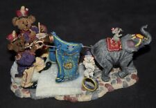 BOXED Boyds Bears & Friends BEARSTONE COLLECTION Figurine LET THE SHOW BEGIN