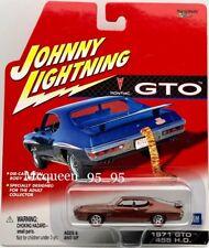 JOHNNY LIGHTNING PONTIAC 1971 GTO 455 H.O.