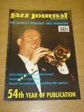 JAZZ JOURNAL INTERNATIONAL VOL 54 #4 2001 APRIL JON-ERIK KELLSO BUDDY TATE