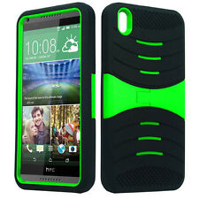 uBLACK/GREEN Phone Case Cover For HTC Desire 816
