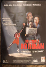 MICHAEL JORDAN: ROAD TO VICTORY RARE OOP DELETED DVD BASKETBALL STAR MOVIE FILM