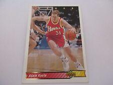 Carte NBA UPPER DECK 1992-93 FR #95 Adam Keefe Atlanta Hawks