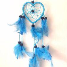 Turquoise Blue Heart Colour Dream Catcher Home Decor & Kids Room Wall