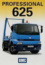 Prospekt BMC 625 Professional Skiploader 8/02 2002 truck brochure Autoprospekt