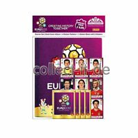 Panini Sticker UEFA Fussball EM 2012 Starterset mit Hardcover Album