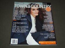 2016 APRIL TOWN & COUNTRY MAGAZINE - TINA FEY COVER - K 1484
