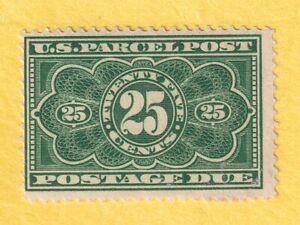 jis36 US STAMP SC# JQ5 25c.1912 *MIT LH/DG CV$70.00 916
