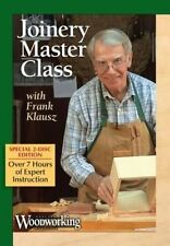 Joinery Master Class with Frank Klausz by Klausz Frank (DVD video, 2014)