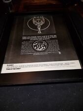 L.T.D. Love To The World Rare Original Promo Poster Ad Framed!