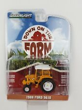 1/64 GreenLight Down on the Farm 1988 FORD 5610 Industrial Tractor w/CAB