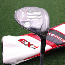 Tour Edge Golf Exotics EX9 Fairway 3+ Wood 13º Black Tie 75M4 Stiff Flex - NEW