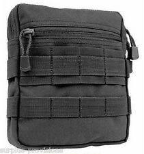 Condor G.P. Tactical Tool Pouch Black - Molle pack, gear, mag clip - #MA67