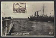 BELGIUM 1933 POSTED AT SEA ON OSTENDE STEAMSHIP STOCKADE & MAIL POST TO DOUVRE