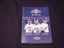 2011 Milwaukee Brewers Baseball Media Guide