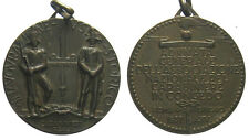 *TRIU*SAVOIA MEDAGLIA 1937 ADUNATA CARABINIERI REALI IN CONGEDO in bronzo