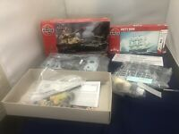AIRFIX A50142  KING TIGER CROMWELL MKIV 1/76 KIT -  Plus CUTTER SARK A68215 Kit