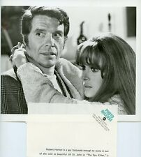JILL ST JOHN ROBERT HORTON PORTRAIT THE SPY KILLER ORIGINAL 1969 ABC TV PHOTO