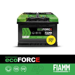 Batería Coche Fiamm TR600 Ecoforce AGM Afb Arranque y Parada - 60Ah 600A Hoy Dx
