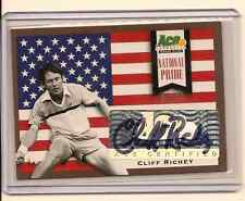 CLIFF RICHEY 2013 ACE AUTHENTIC GRAND SLAM NATIONAL PRIDE AUTO /50
