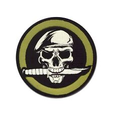Patch Rothco Military Skull & Knife