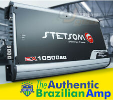 Stetsom Amplifier EX10500 EQ - 11600 Watts RMS 1 ohm Brazilian Amp 10k