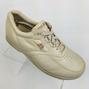SAS Time Out Mens Walking Shoes Beige Leather Comfort Orthopedic Size 13 M