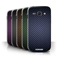 Étuis, housses et coques bleus Samsung Galaxy S en fibre de carbone pour téléphone mobile et assistant personnel (PDA)