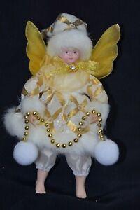 Christmas Angel. Fairy. Gold.