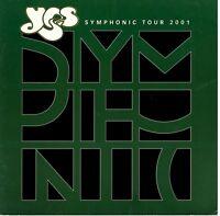 YES 2001 SYMPHONIC TOUR CONCERT PROGRAM BOOK BOOKLET / JON ANDERSON / VG 2 EX