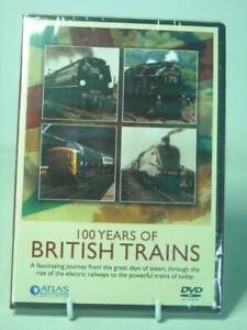 Atlas Editions 100 YEARS OF BRITISH TRAINS DVD SEALED GWR SR LNER LMS