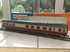 Roco HO 4270 DB 1st Class Bar Coach in red and cream